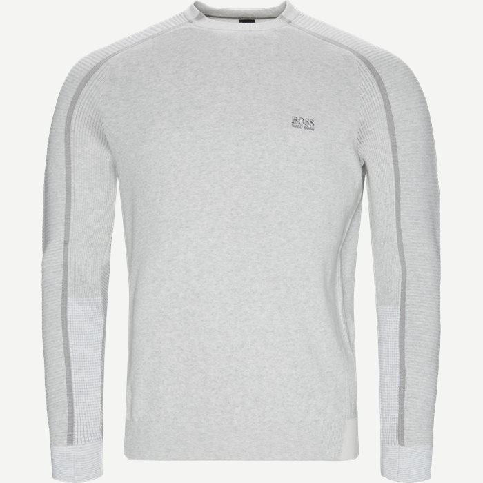 Reinar Crewneck Striktrøje - Strik - Regular - Grå